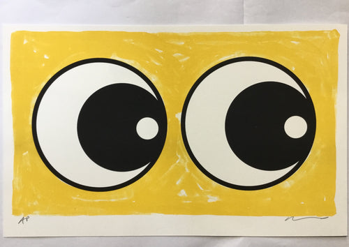 Adam Bridgland Eyes Yellow