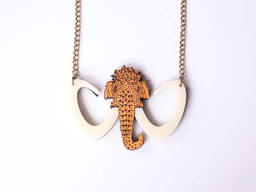 Mammoth Necklace Designosaur
