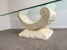 Load image into Gallery viewer, Fossil Stone Coffee Table (selling on behalf)