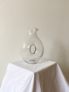 Glass Loop Vase