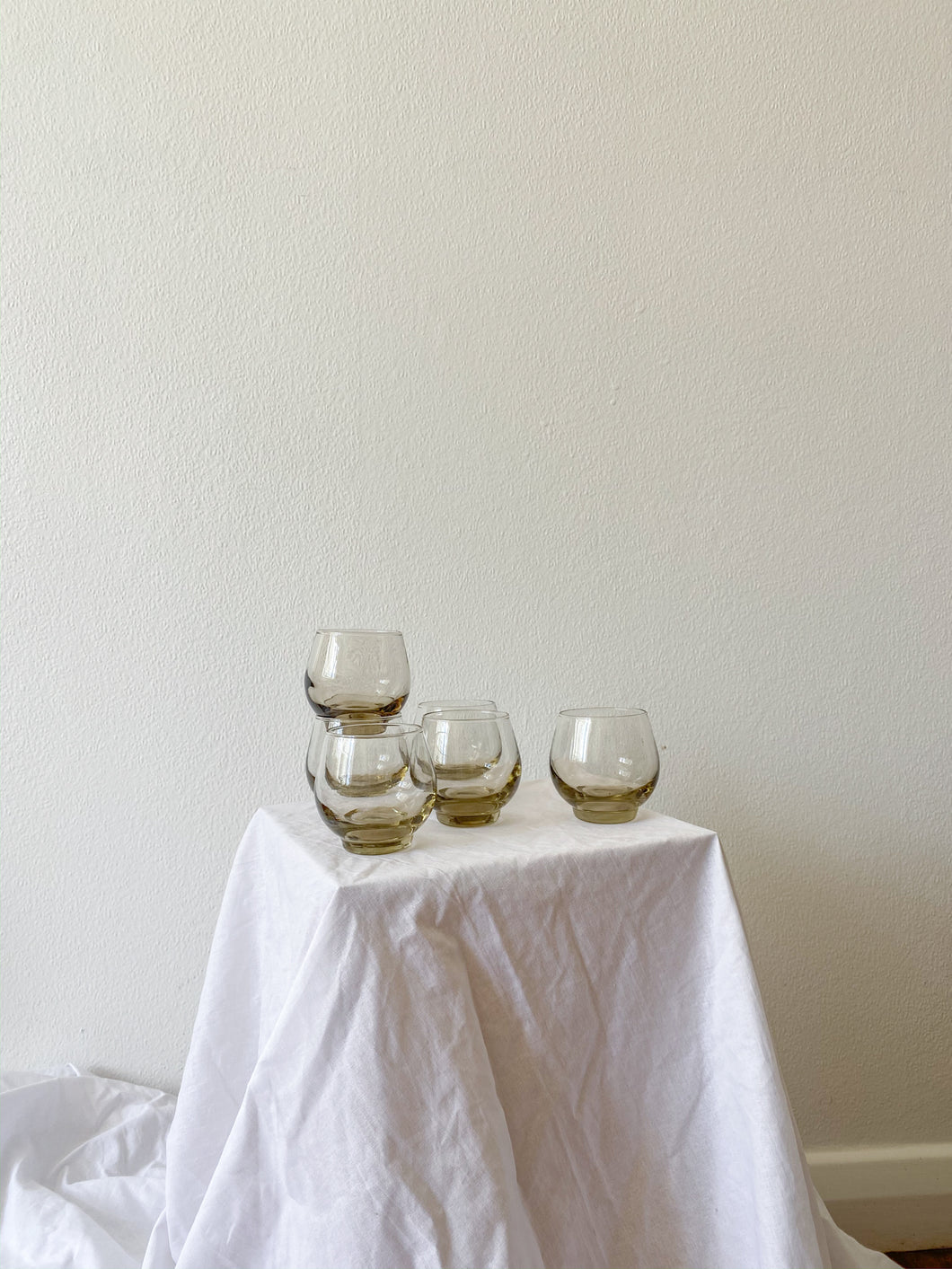 Lightly Smoked Glasses (set of 6)