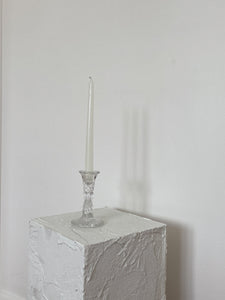Glass Candle Holder | set of 2