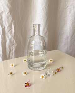 Round Glass Decanter