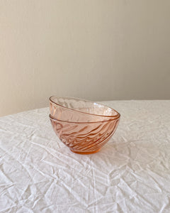 Rose Glass Bowls | 2