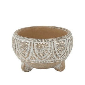 Phoenix Footed Bowl