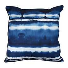 Load image into Gallery viewer, Tide Alfresco Cushion in Blue and White