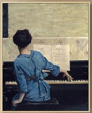 Load image into Gallery viewer, Girl at the Piano 50 x 70 cm (Unframed)