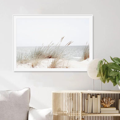 Canvas Print beach sand dunes