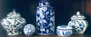 Blue and White Ceramic Balls (price is for one)
