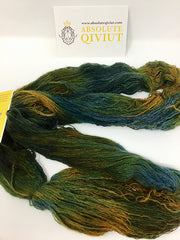 100% Qiviut yarn. 2 ply #Northern Collection- Yellow Knife.