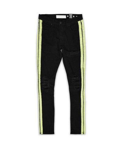 Motosport Stripe Denim Jeans