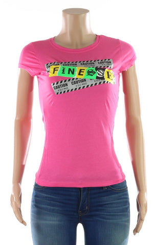 "Metallic ""Finesse"" Tee"