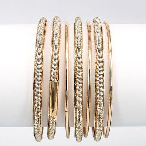 Stacking Bracelets Gold