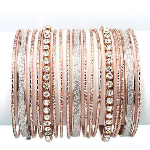 Stacking Bracelets Rose Gold