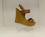 QUPID KENDALL CAMEL WEDGE