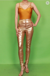 Latex Bronz Pants