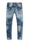 BIG MEN'S AARON CHICAGO DENIM (PACIFIC BLUE)