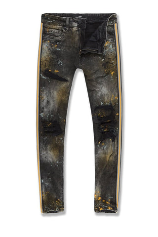 SEAN - SPARTA STRIPED DENIM (GOLD)