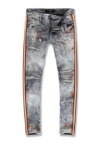 SEAN - SPARTA STRIPED DENIM (STARFISH)