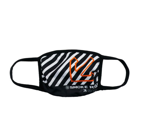 Smoke Rise Striped Face Fashion Mask