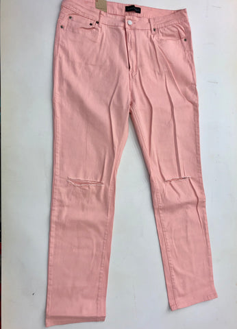 Peach High Rise Skinny