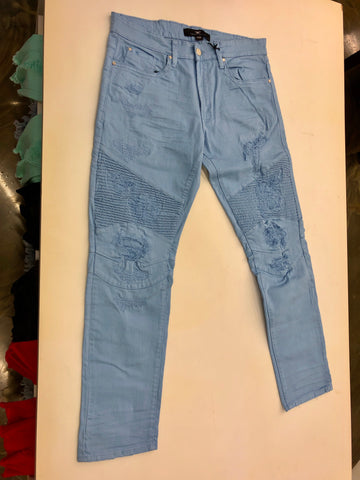 Light Blue Twill Jeans