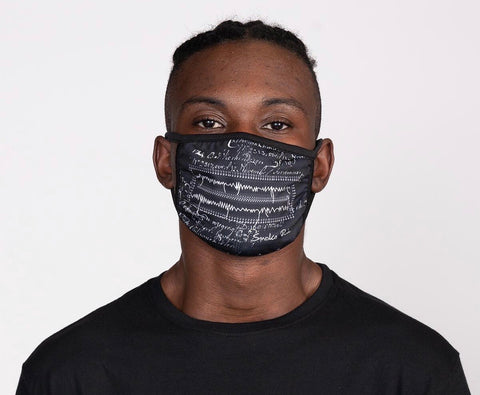 Smoke Rise Stitch Face Fashion Mask