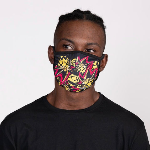 Smoke Rise Pop Face Fashion Mask