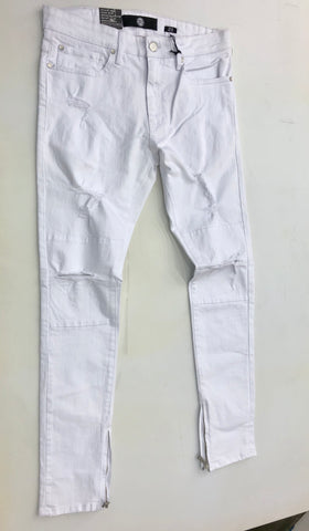 White Twill Jeans