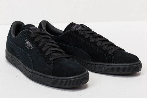 Puma Suede Classic Black-Dark Shadow