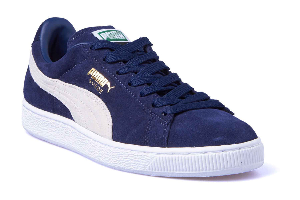 Puma Suede Classic Peacoat-White – Stylz-N-Couture