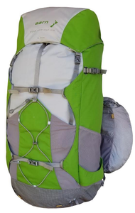 Aarn Peak Aspiration Hiking pack, front view