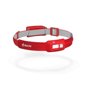 Biolite slim fit head torch-red