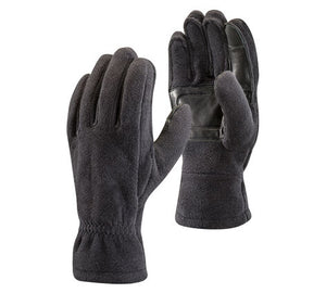 Black Diamond midweight fleece gloves