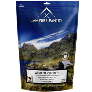 Campers Pantry Apricot Chicken freeze-dried meal