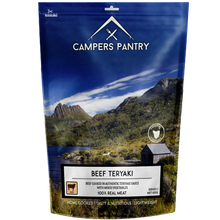 Load image into Gallery viewer, Campers Pantry Beef Teriyaki freeze-dried Meal