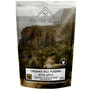Campers Pantry Creamed Rice Pudding Dessert