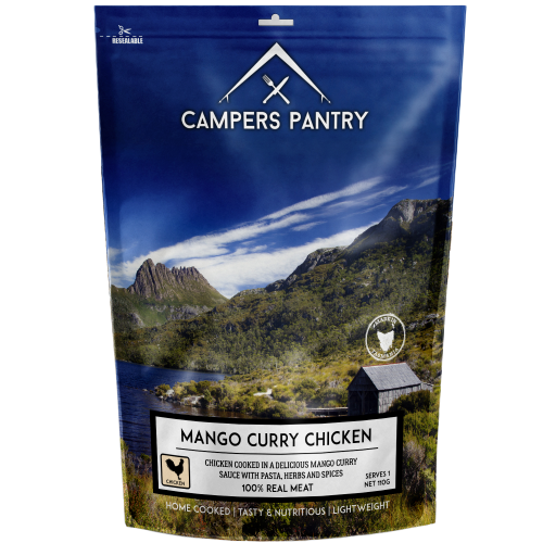 Campers Pantry Mango Chicken Curry Meal