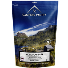 Load image into Gallery viewer, Campers Pantry Moroccan Pork Meal