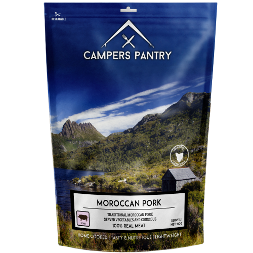 Campers Pantry Moroccan Pork Meal