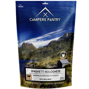 Campers Pantry Spaghetti Bolognese Meal