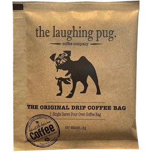 The Laughing Pug Coffee Drip Bag - Single Bag