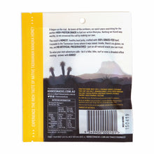 Load image into Gallery viewer, Kooee! Manuka Honey Beef Jerky back of pack nutritional information