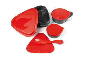 Light My Fire meal kit with bowl, plate, chopping board/strainer and cup