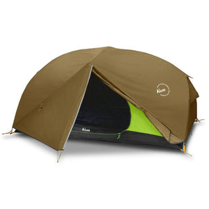 Luxe Habitat NX3 2-person hiking tent pitched