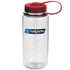 Nalgene Wide-Mouth Tritan Bottle 0.5L-red/clear