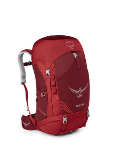 Osprey Ace 38 Kids Pack-Red