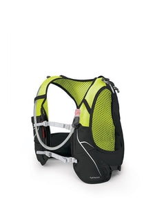 Osprey Men's Duro 6 Race Vest Pack view of straps and hydration hose