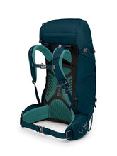 Load image into Gallery viewer, Osprey Kyte 46 backpack highlighting shoulder straps and waist belt