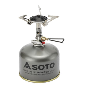 SOTO Micro Regulator Light Weight Stove